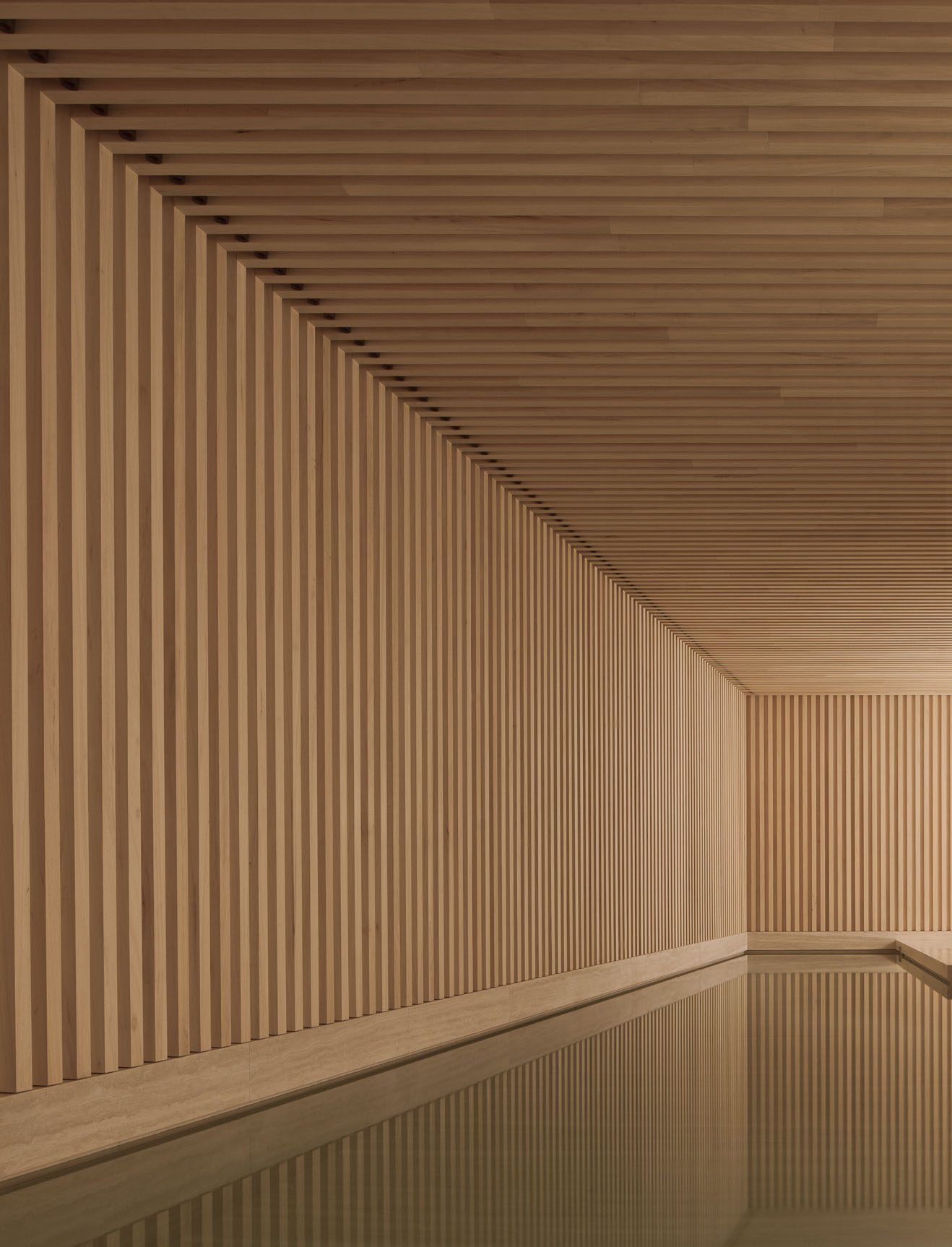 SPINK Property and David Chipperfield Cottage Place Swimming Pool Design